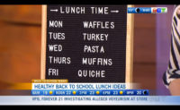 Healthy back-to-school lunches