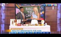 Healthy back-to-school breakfast