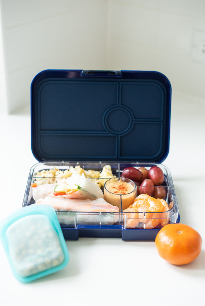 Back To School Yumbox Lunch Karlene Karst Rice Paper Salad Rolls