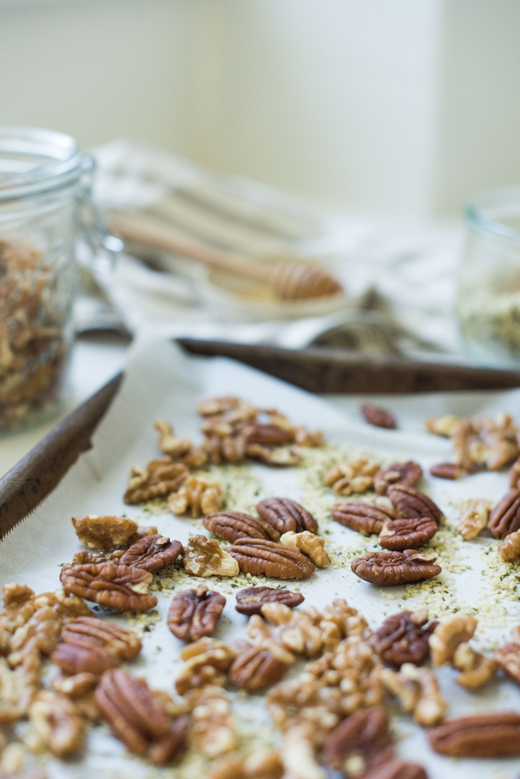 Roasted Nuts for Nut Butter