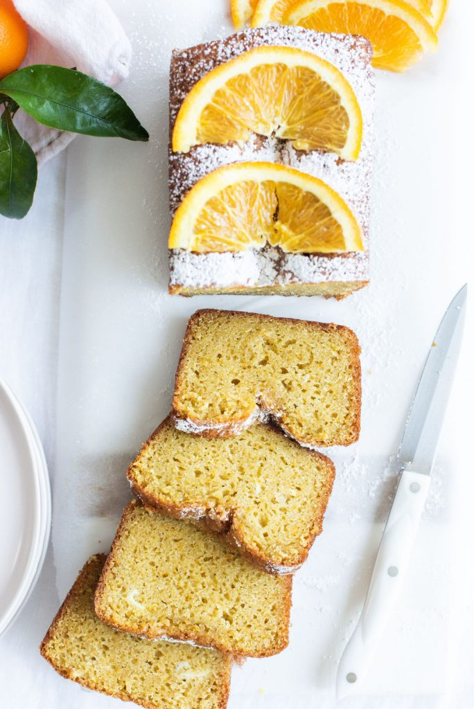 sliced olive oil citrus loaf by karlene karst